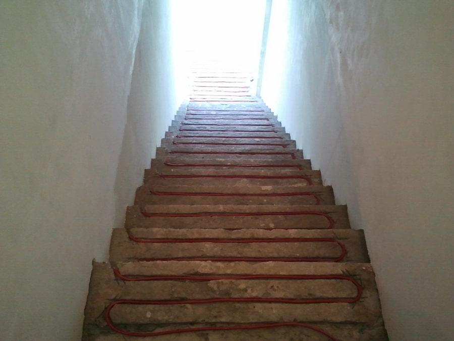 обогрев ступеней